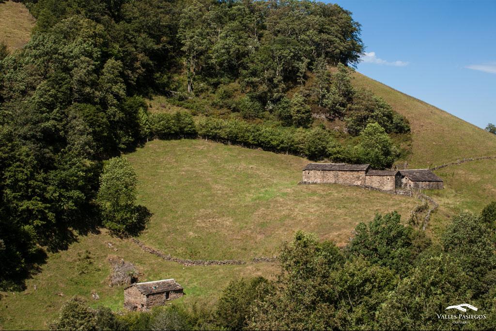 Cabañas de Vega de Pas Cantabria