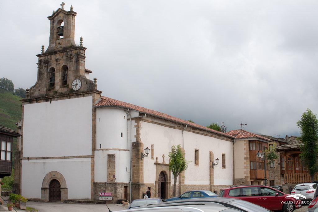 Iglesia Nuestra Señora de la Vega en Vega de Pas Cantabria