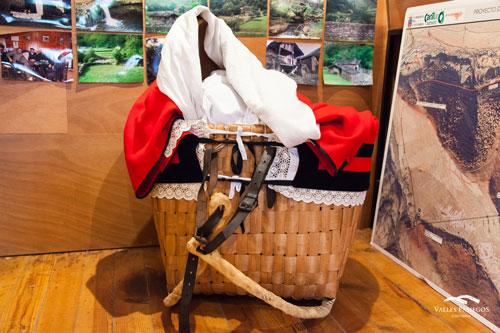 Canastra Museo Tres Villas Pasiegas